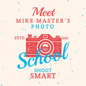 Stamp of photo camera