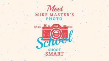 Photo School Ad Stamp of Camera