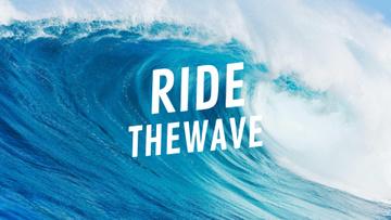Curl of big wave