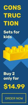 Kids Constructors Sale Brick in Yellow