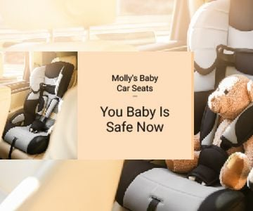 Teddy Bear in Baby Car Seat