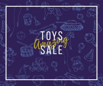 Different Kids' Toys Sale in Blue