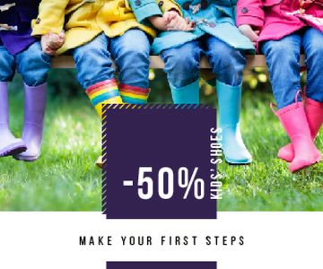 Shoes Sale Kids Wearing Rubber Boots