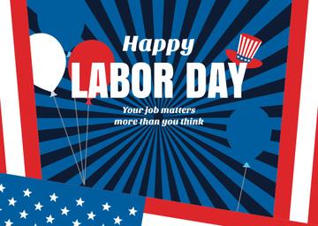 USA Labor Day celebration