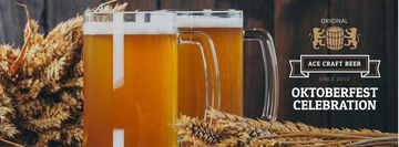 Traditional Oktoberfest beer