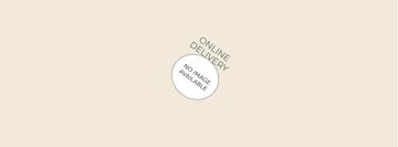 Online delivery order on phone screen