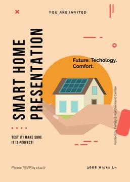 Futuristic Smart home concept
