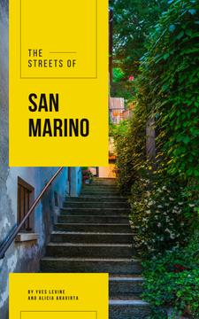 San Marino Narrow City Street
