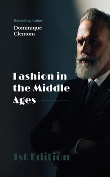 Male Fashion Stylish Bearded Man
