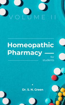 Pharmacy Pills on Blue Surface