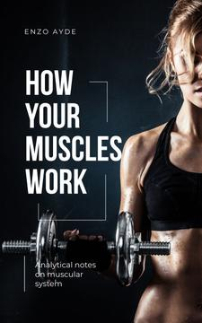 Muscular System Guide Woman Lifting Dumbbell