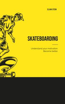 Man Riding Skateboard in Yellow