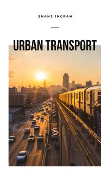 Urban Transport Traffic in Modern City