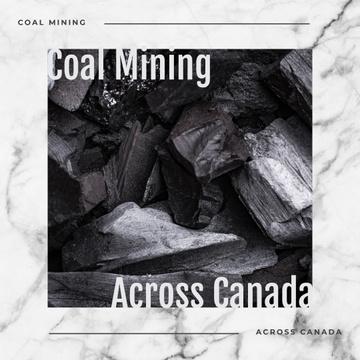 Black coal pieces