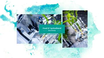 Food and Agricultural Biotechnology