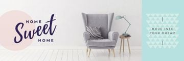 Cozy Interior Armchair Grey Color