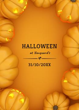 Halloween Celebration Pumpkin Lantern