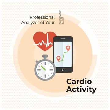 Application for cardio activity monitoring