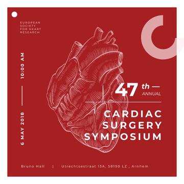 Human heart sketch