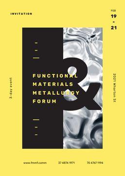 Metallurgy Forum on wavelike moving surface
