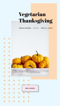 Yellow small pumpkins