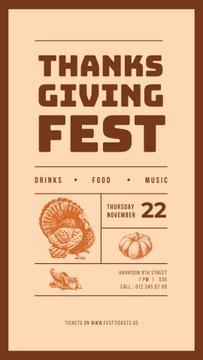 Thanksgiving fest poster