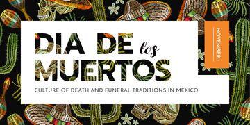 Dia de los muertos pattern