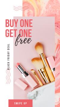 Makeup cosmetics set
