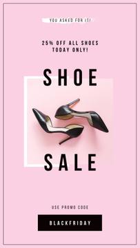 Fashion Sale with Female fashionable shoes