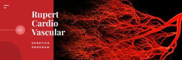 Blood vessels model