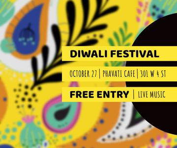 Happy Diwali celebration event