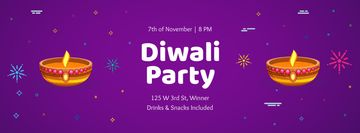 Happy Diwali Party celebration