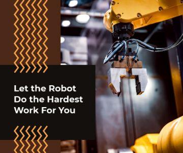 Modern Robotics Technology on Production Line
