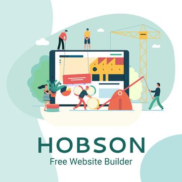 Business team creating website
