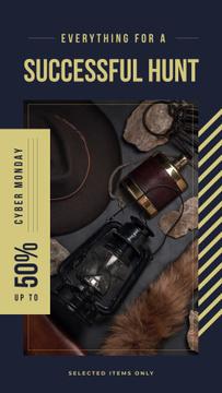 Vintage style travel kit