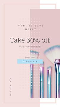 Cyber Monday Sale Makeup brushes set