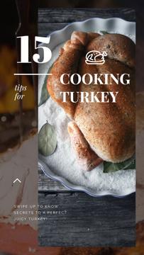 Thanksgiving Roasted whole Turkey