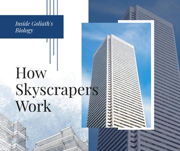 Modern glass Skyscraper building