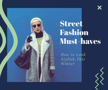 Fashion Trends Woman in Winter Clothes