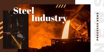 Man in metal workshop
