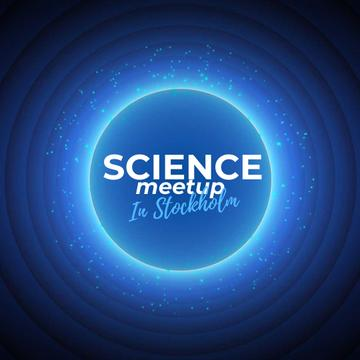 Science Meetup Announcement with Starry Sky