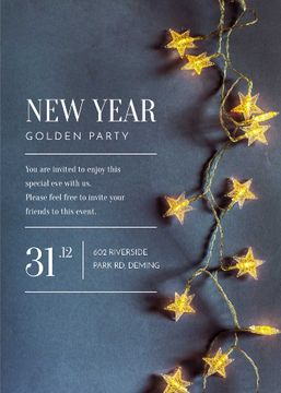New Year Party Star-Shaped Decorations