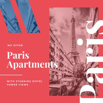 Paris Travelling Attraction Eiffel Tower