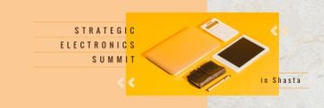 Electronics Summit Announcement Digital Devices and Notebook