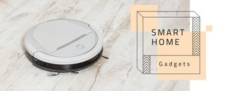 Robot vacuum cleaner for Smart Home