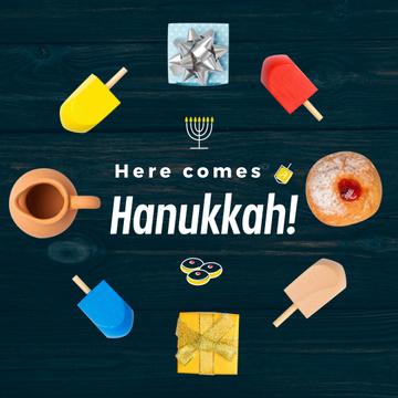Happy Hanukah attributes