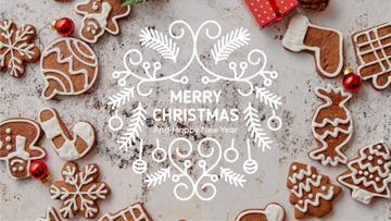 Christmas ginger cookies