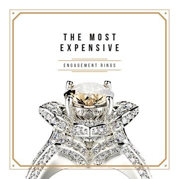 Precious ring with gem stone