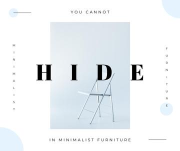 White minimalistic chair