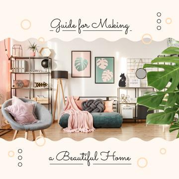 Cozy modern Room Interior